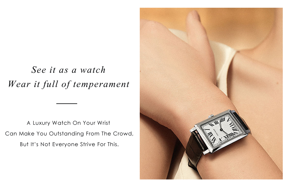 Agelocer swiss marca elegante retro relógios moda