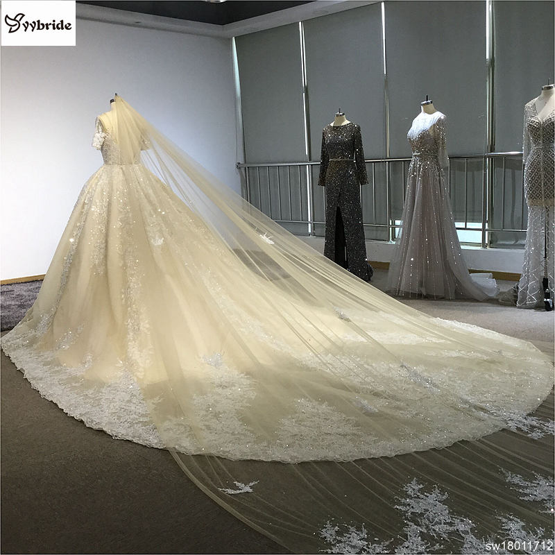 sw18011712-18  Surmount Design Elegant Lace Wedding Dresses Scoop Neck Long Sleeves Vintage Wedding Gown Floor Length Royal Train Wedding Dress HTB1yciRffjM8KJjSZFsq6xdZpXac