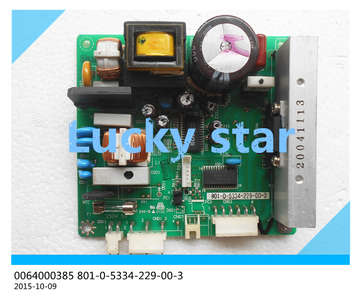 95% new for Haier refrigerator computer board circuit board 0064000385 801-0-5334-229-00-3 driver board good working set