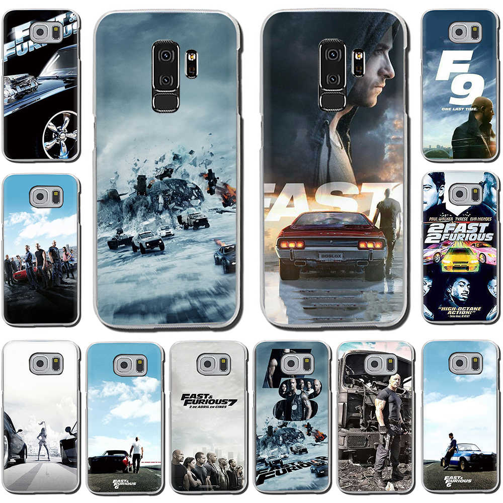 Fast & Furious en Paul Walker Harde Telefoon Cover Case Voor Samsung Galaxy S6 7 Rand S8 9 Plus S10 E Plus Note8 9 M10 20 30
