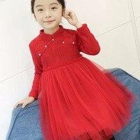 Baby Girl Dress Winter Lace Princess Dress Baby Dress Thick Winter Dress
