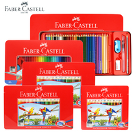 FABER CASTEL 72 Color Professional Water Soluble Colored Pencils for Artist School Sketch Drawing Pen Children Special Gift
