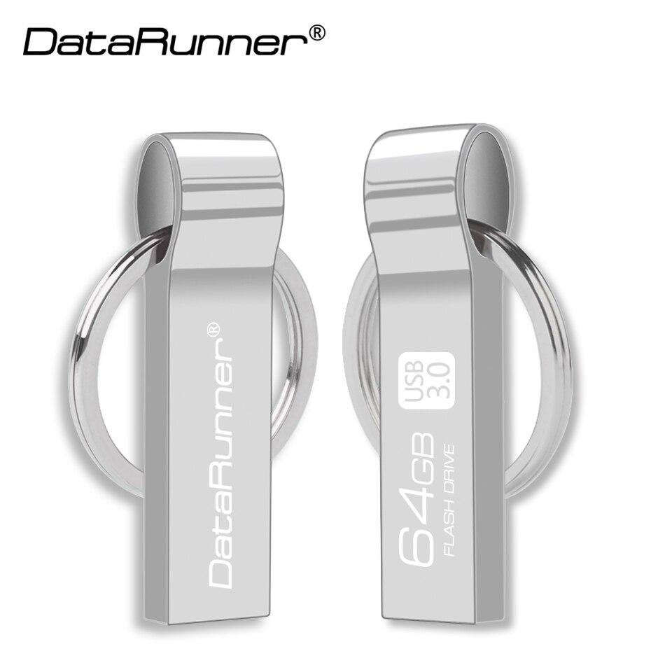 DataRunner USB Flash Drive KeyChain Pen Drive 16GB 32GB 64GB 128GB Waterproof Pendrives High Speed Usb Stick 3.0 Flash Disk