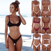 Sporlike New Sexy Bikinis Women Swimsuit 2017 Summer Beach Wear Push Up Swimwear Female Bikini Set