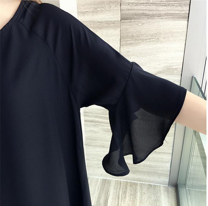 AREALNA 2019 Neue 5XL 4XL 3XL Sommer Frauen Mode Lose Nette Rundhals - Damenbekleidung - Foto 4