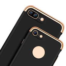 For iPhone 7 Luxury Case Ultra Slim PC Hard Back Cover For iPhone 7 Plus Hybrid Cases 3 in 1 Como Phone Cases Covers(China)