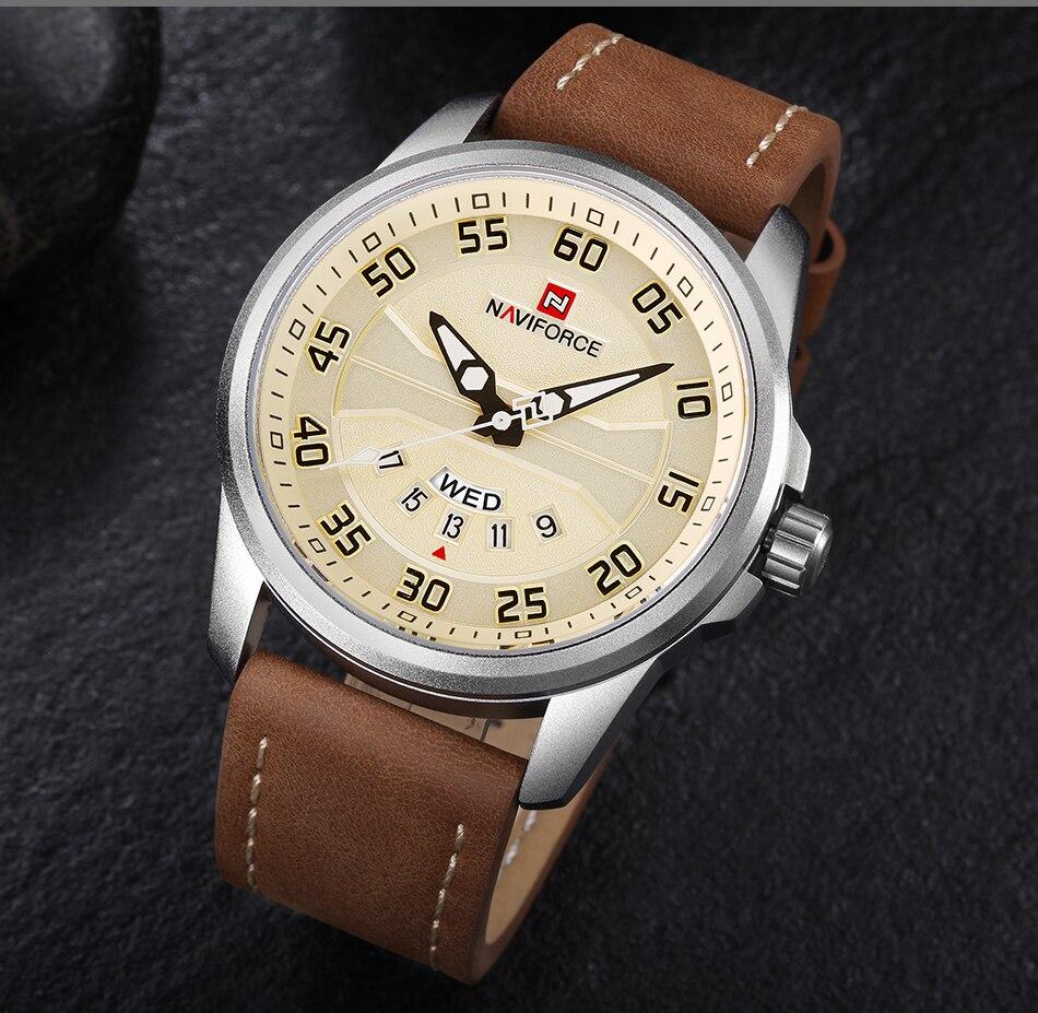 casuais relógio de quartzo homem pulseira couro