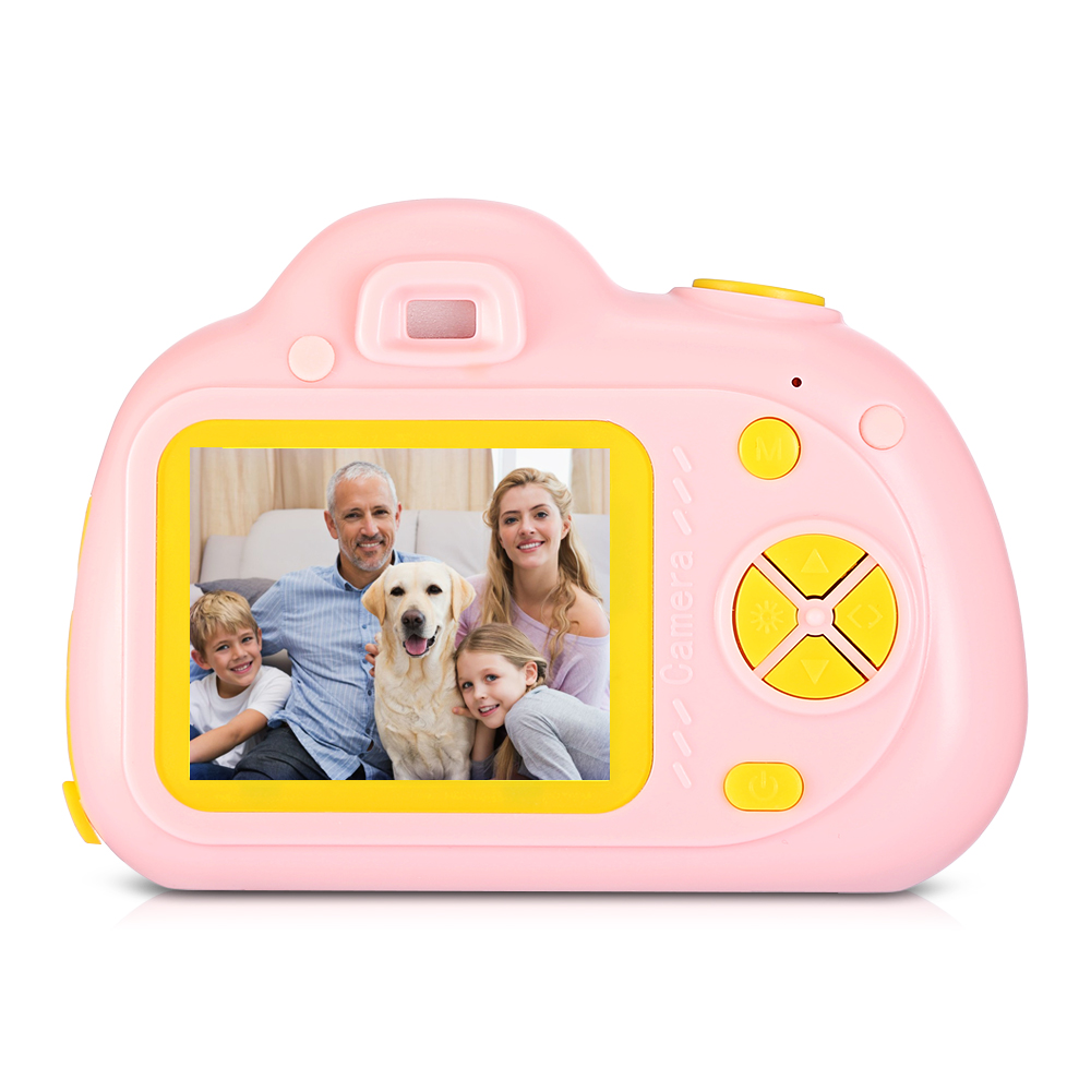 Children Digital Camera 1080P Image Built-In 6 Modes Timed Shooting Function 5 Photo Frames Toy Cameras