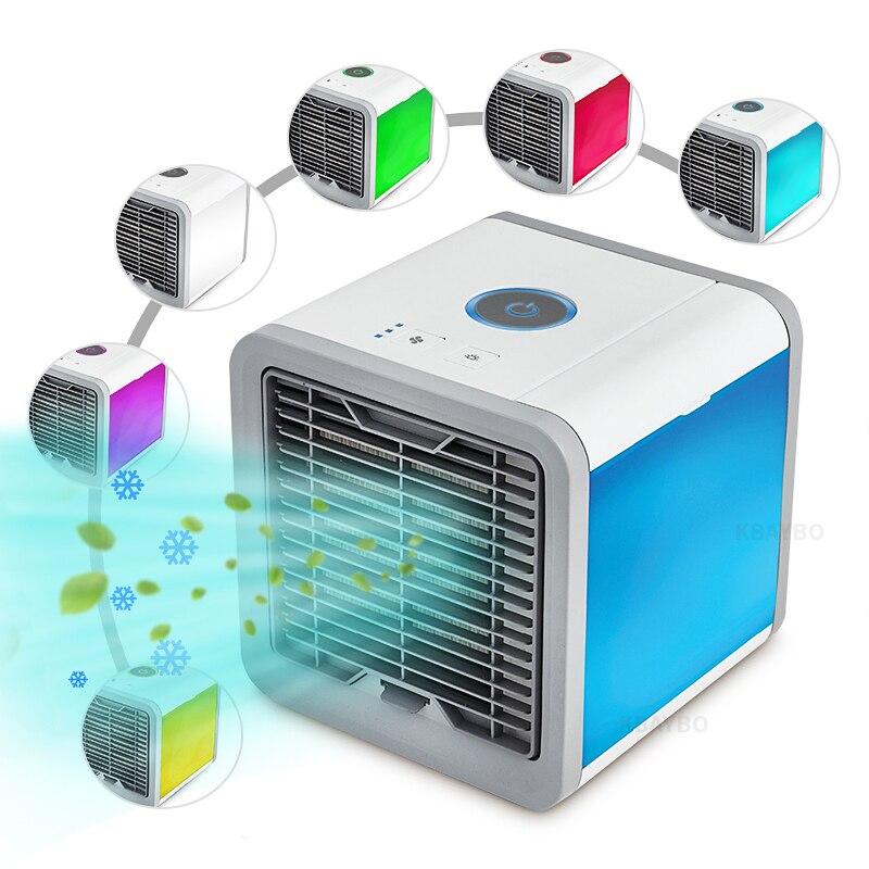 2018 neue Sommer kühlen beruhigende wind Tragbare Mini Klimaanlage Kühler Cooling USB Fan Ventilator Gerät Home-Office Schreibtisch