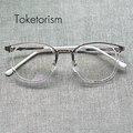 Прозрачные линзы очки модельер óculos de sol женщина для очков кадров мужчины 4792