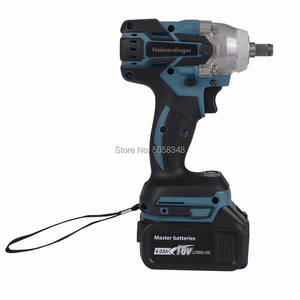 Image 3 - Electric Rechargeable Brushless Impact Wrench Cordless with one 18V 4.0Ah Lithium Battery