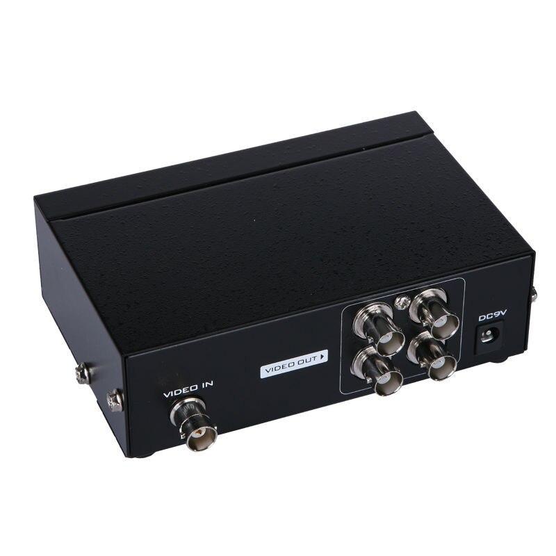 MT-VIKI Maituo 1 Input 4 Output BNC Splitter Box 4 Way BNC Distributor 104BC