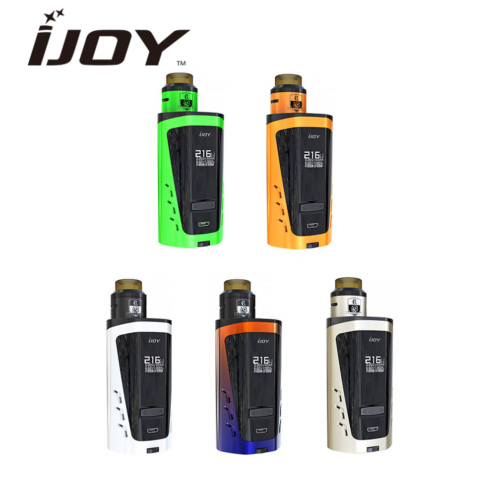 Original IJOY CAPO SRDA 20700 Squonker Kit 216W Output COMBO SRDA Tank & 20700 Squonk MOD 10ml Bottle Capacity E-cig Kit Vaping