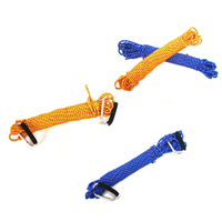 Nylon Mountaineering Rope11mmX20m Braided Rope Cord Outdoor Climbing Emergency Survival Nylon Mountaineering Paracord