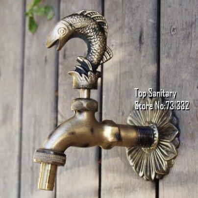 Tb9043 Decorative Outdoor Faucet Rural Animal Shape Garden