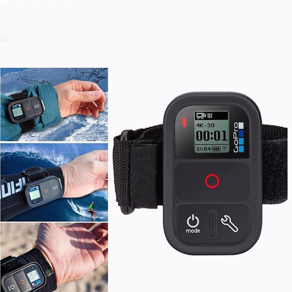 Remote control wrist band for gopro hero 4s for GoPro three Way mount