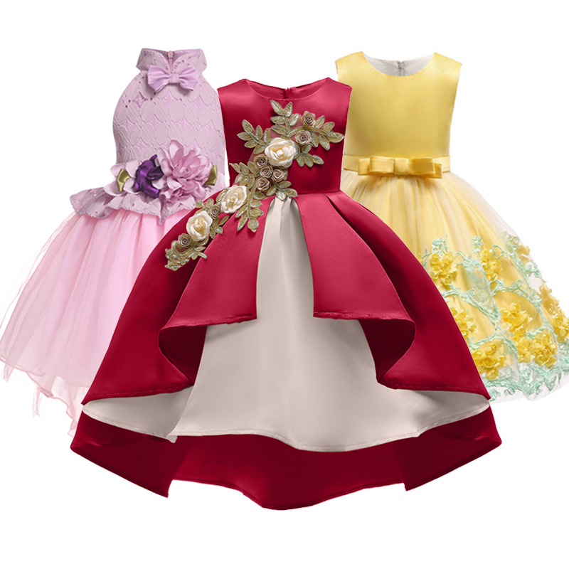 aliexpress  buy baby girl embroidery silk princess