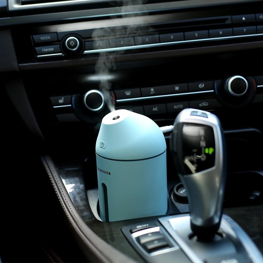 Desktop Mist Maker Household Car Humidifier Cute C9 Diffuser DC5V USB Power 35ML/H Water Sprayer Auto Shut-down Aroma Diffuser