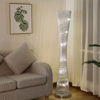 Vintage Iron Floor Lamp Decoration Living Room Standing Lamp Standing Light for Bed Room Sofa stand Lamp Night European Lights