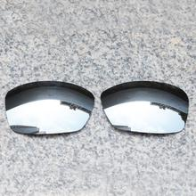 Mirror Replacementlensesforoakleyhijinx Sunglasses-Silver Chrome Polarized Enhanced E.O.S