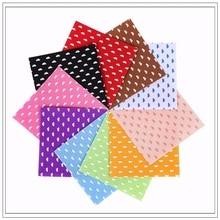 Cloud Felt  Craft felt Polyester Fabric 100% Print 10PCS 1pack Combination Cloth Handmade Sewing Material15x15