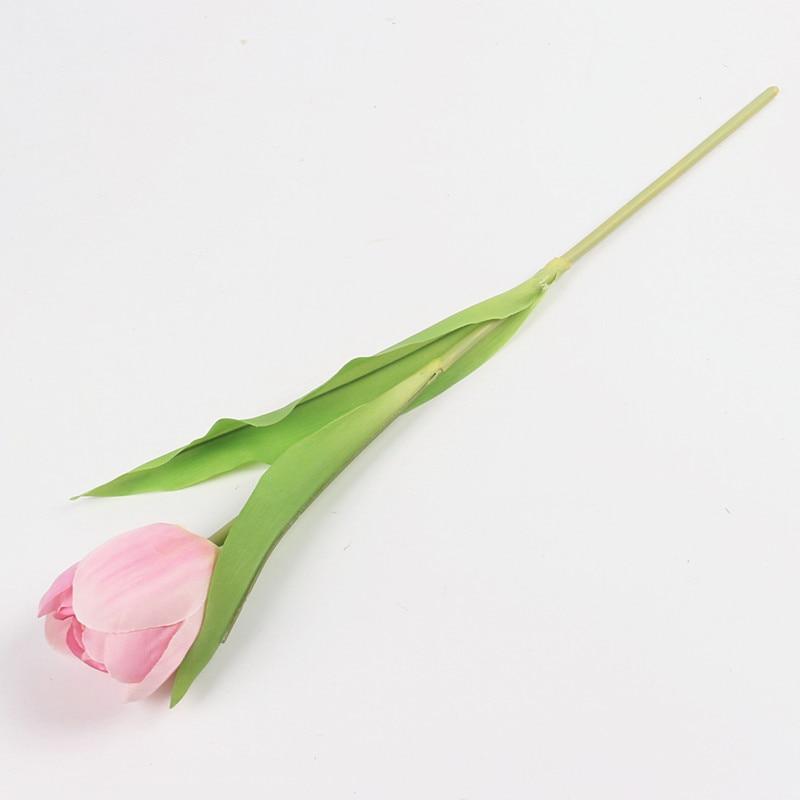JAROWN Dirbtinis Tulpė Gėlių Šilko Gėlės Fake spalvinga - Šventės ir vakarėliai - Nuotrauka 4