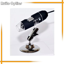 Buy online Portable HD USB Digital Electronic Illumination Stereo Microscope 1000x 8 LED Lights