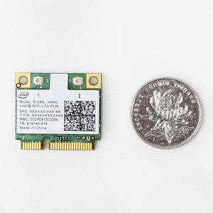 Image 3 - Dual band 300 Mbps Wireless Card สำหรับ Intel Wifi 5100 512AN_HMW Mini PCI e Wlan การ์ดเครือข่าย 2.4G/5 ghz 802.11 a/g/n สำหรับแล็ปท็อป