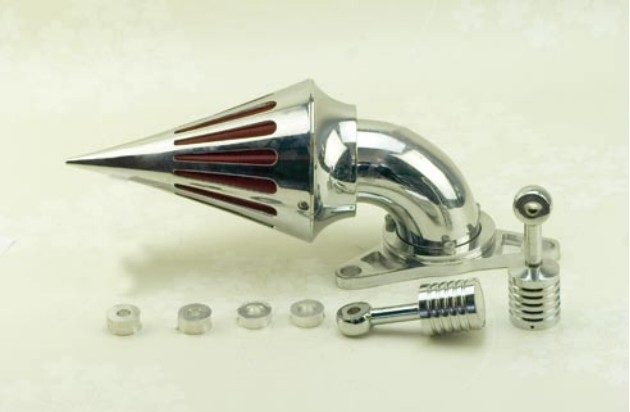 Air Cleaner Kits Intake Filter For Harley Softail Dyna Touring Chrome Spike