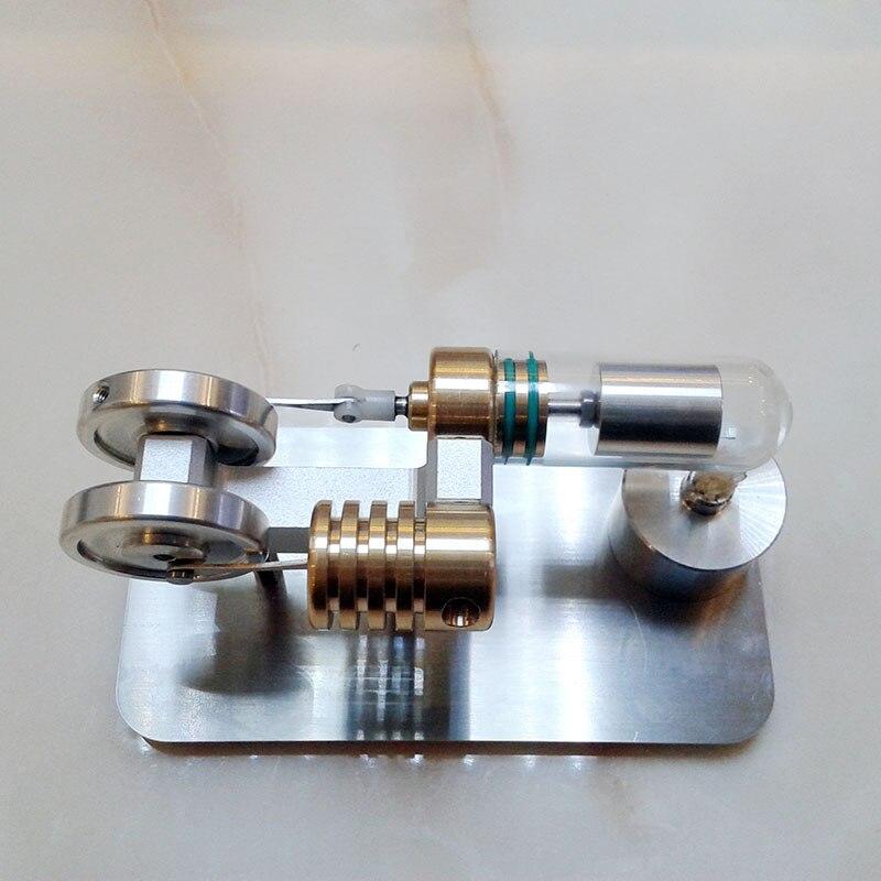 43680aa1921 Modelo de Motor Stirling Motor Brinquedos Criativos Presente DE Aniversário  Experimentos Científicos em Kits Modelo De Construção de Brinquedos no ...