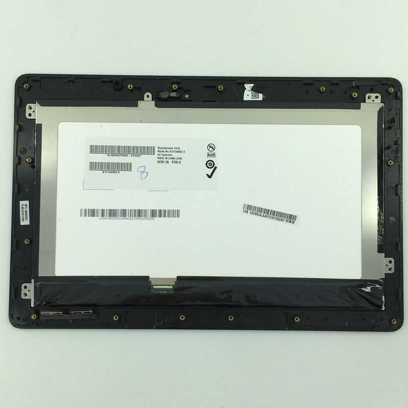 LCD Display Touch Screen Panel Digitizer Assembly + Frame FP-TPAY10104A-02X-H For ASUS Transformer Book T100 T100TA-C1-GR T100T sheep p