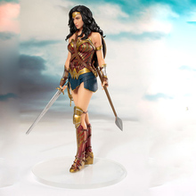 DC Comics Wonder Woman figure toys doll 19cm justice League ARTFX Princess Diana Statue Collection Model Action Figure Toys
