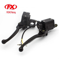 FX CNC 7 8 22MM Universal Fit 50CC 400CC Street Motorcycle And Scooter Motorcycle Brake Clutch