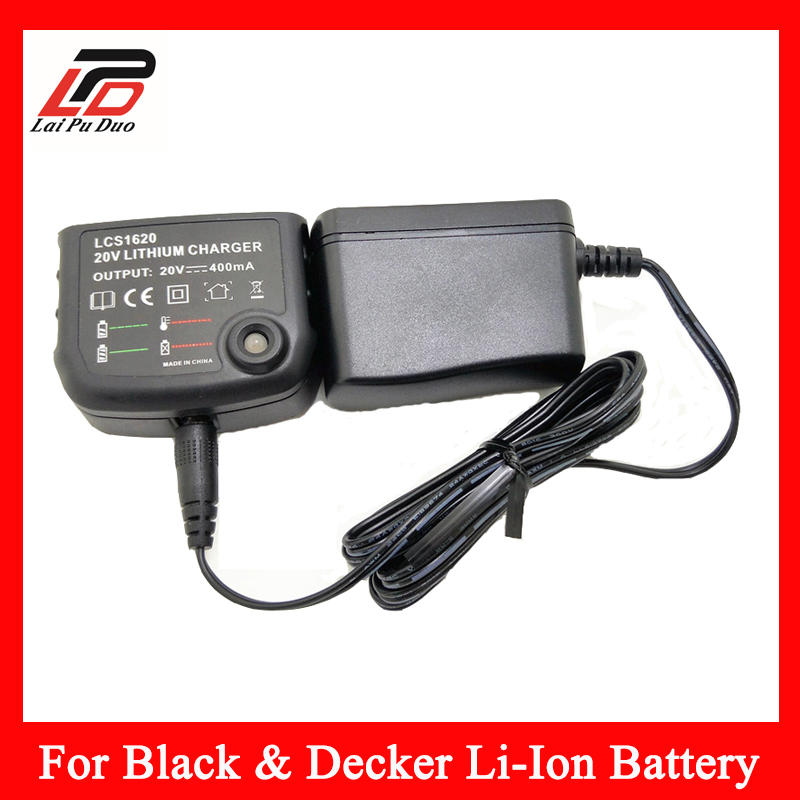 Brand New For BLACK&DECKER LBXR20 LBXR20-OPE 20V MAX Lithium Ion Replacement Tool Battery Charger