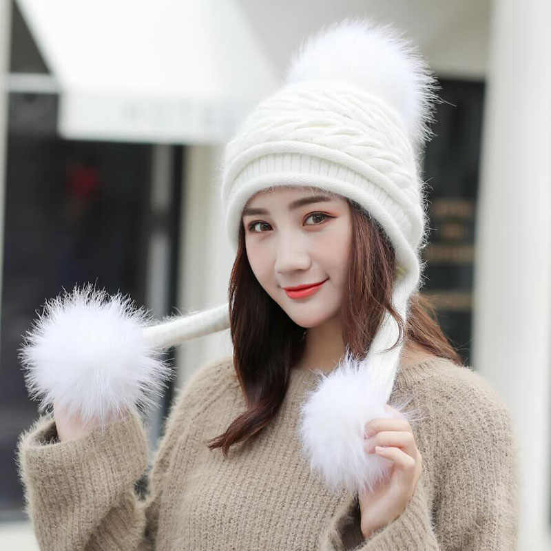 7153aa2ce Detail Feedback Questions about SUOGRY Winter Hat Female Autumn and ...