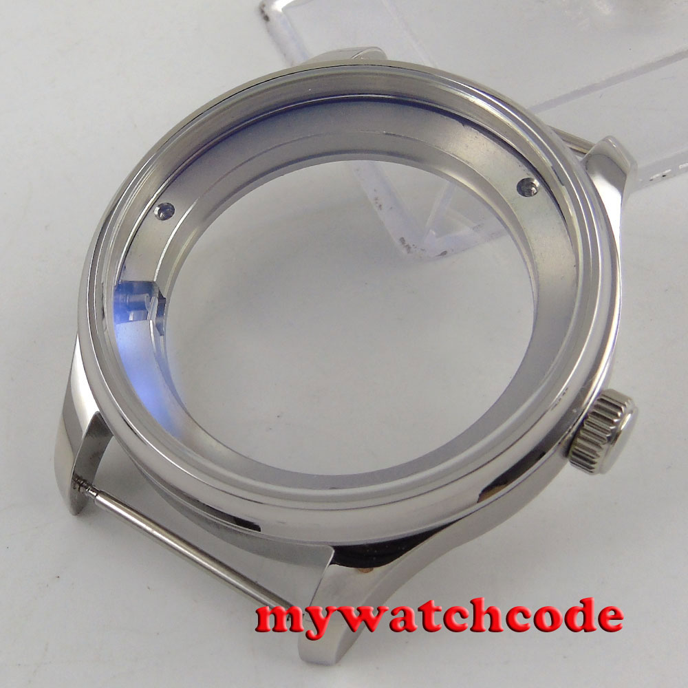 43mm parnis stainless steel CASE fit ST 2505 2530 movement Watch C127