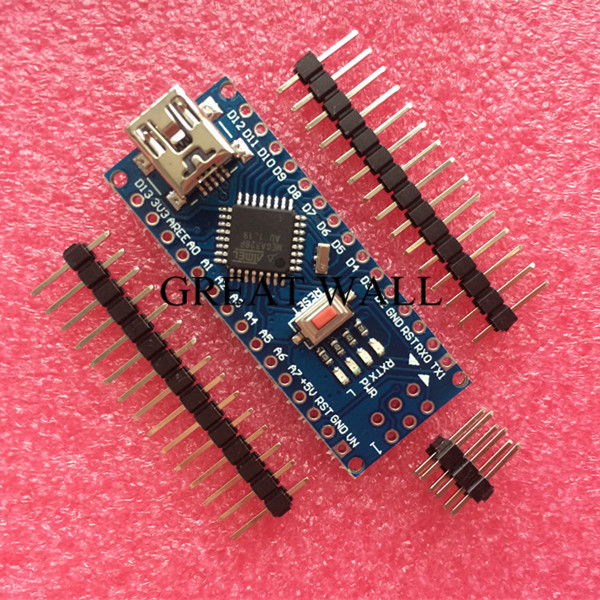 Freeshipping ! 50PCS/LOT Nano 3.0 controller compatible for arduino nano NO CABLE