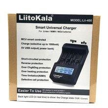 Новый liitokala lii-400 ЖК-дисплей 3.7 В/1.2 В AA/AAA 18650/26650/16340/14500/ 18500 Батарея Зарядное устройство с экраном (lii400 + 12V2A Adapte + CAR)