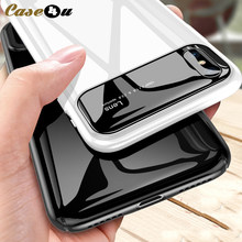 Luxury Glossy Smooth Mirror Hard Phone Cases For iPhone X 8 7 6 6s Plus Shockproof 360 Cover For iPhoneX 10 Lens Piano capinhas(China)