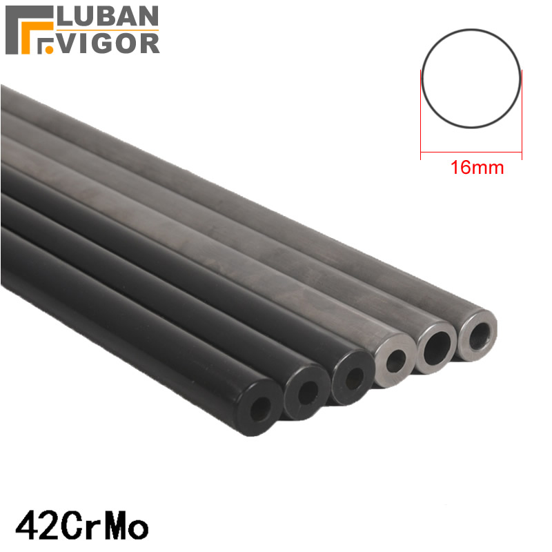 Customized product,42crmo Seamless steel pipe ,Precision tube High pressure resistance Explosion proof,OD 16mm,mirror surface free shipping customized green fixed type pipe resistance 400w 0 37 ohm ceramic tube resistor