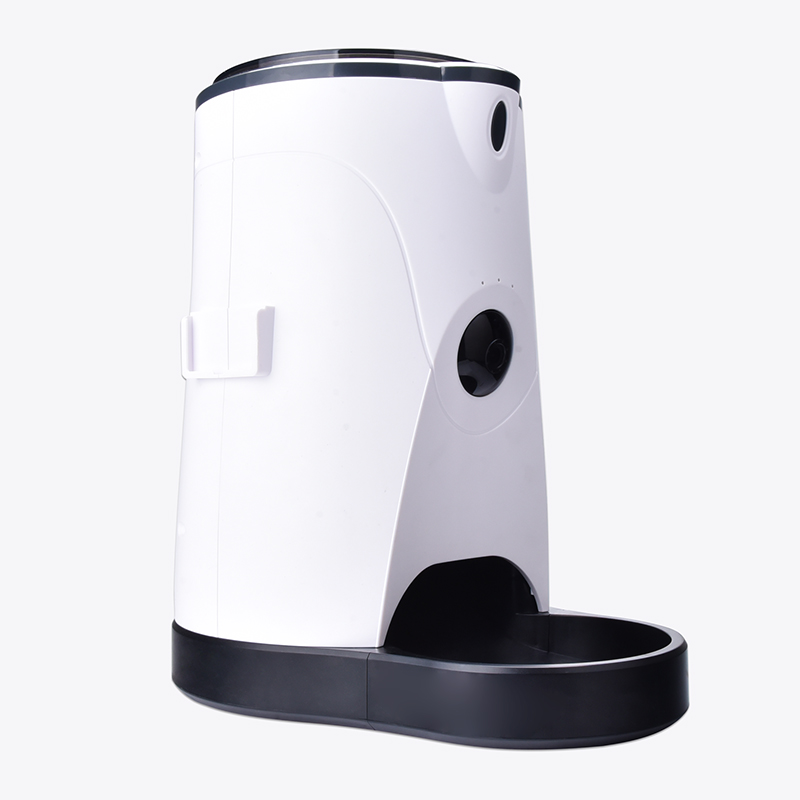 Automatic Smart Pet Feeder Camera With Water Feeding Wireless WIFI Camera IP for Dogs Cats Remotely Monitoring Feeding in Surveillance Cameras from Security Protection