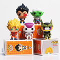 Funko POP Dragon Ball Z Goku Vegeta Piccolo freezer celular PVC figura de acción coleccionable modelo