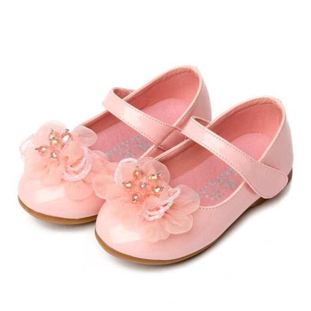 Four seasons girls leather shoes 1 6