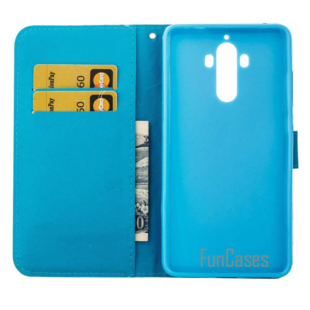 Wallet Case for fundas Huawei Mate 9 Case 5.9 inch Huawai telefonski Huawi tel Huewei cuir Hawaii funda Hwawei csse