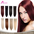 """24"""" 7Pcs/set Multicolor Long Straight Synthetic Hair Piece Natural Hair Extension Clip In Hair Extensions"""