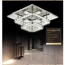 Современный хрустальный светодиодный потолочный светильник s спальня гостиная лампа с плафоном lampen kristal дизайнерский светильник Lustre Luminarias