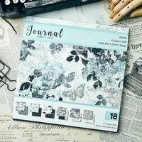 KSCRAFT Винтаж журнал шаблон веленевая писчая бумага для Скрапбукинг счастливый планировщик/карты/журналистский проект