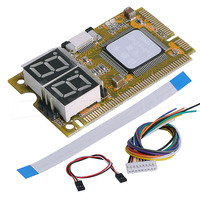 5 in 1 Mini Combo PC Debug Test Diagnostische Kaart Mini PCI PCI-e LPC Voor Lenovo Asus Notebooks