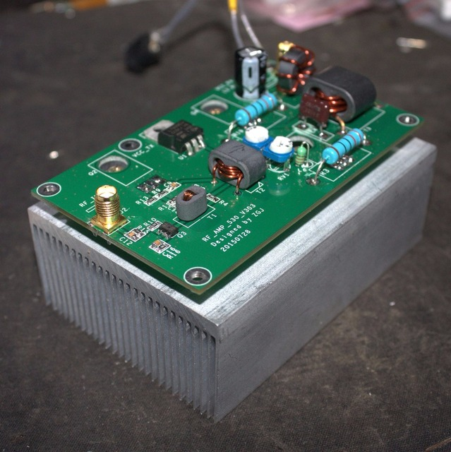 45W 3 28MHz SSB לינארי כוח מגבר לוח DIY ערכות עבור משדר רדיו HF FM CW חזיר