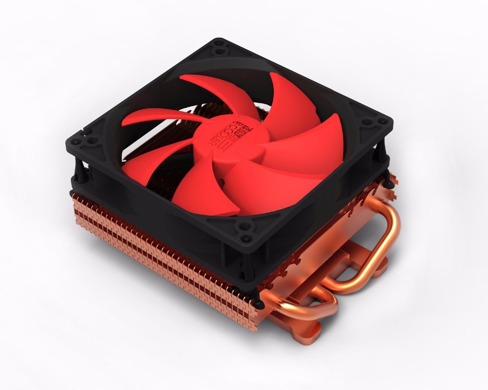 PcCooler K101D 100mm fan 2 heatpipe Graphics cooler, graphics card cooler cooling VGA fan GPU radiator free shipping 90mm fan 4 heatpipe vga cooler nvidia ati graphics card cooler cooling vga fan coolerboss